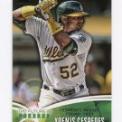 2014 Topps Mini The Future Is Now Baseball #FN34 Yoenis Cespedes - Oakland Athletics