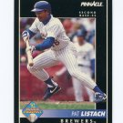 1992 Pinnacle Baseball #562 Pat Listach RC - Milwaukee Brewers