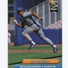 1992 Ultra Baseball #385 Pat Listach RC - Milwaukee Brewers