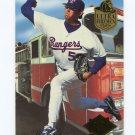 1994 Ultra Firemen Baseball #03 Tom Henke - Texas Rangers
