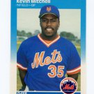 1987 Fleer Baseball #017 Kevin Mitchell RC - New York Mets