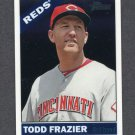 2015 Topps Heritage Baseball Chrome #THC434 Todd Frazier - Cincinnati Reds Serial Numbered 435/999