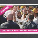 2015 Topps Heritage Baseball #404 Pittsburgh Pirates