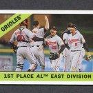 2015 Topps Heritage Baseball #348 Baltimore Orioles