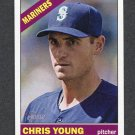 2015 Topps Heritage Baseball #305 Chris Young - Seattle Mariners