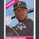 2015 Topps Heritage Baseball #256 Starling Marte - Pittsburgh Pirates
