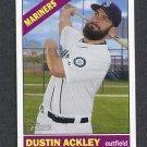 2015 Topps Heritage Baseball #237 Dustin Ackley - Seattle Mariners