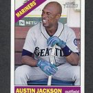 2015 Topps Heritage Baseball #227 Austin Jackson - Seattle Mariners