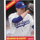 2015 Topps Heritage Baseball #169 Brandon McCarthy - Los Angeles Dodgers