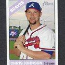 2015 Topps Heritage Baseball #154 Chris Johnson - Atlanta Braves