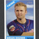 2015 Topps Heritage Baseball #120 Brian Dozier - Minnesota Twins
