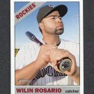 2015 Topps Heritage Baseball #093 Wilin Rosario - Colorado Rockies