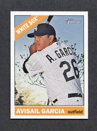 2015 Topps Heritage Baseball #029 Avisail Garcia - Chicago White Sox