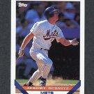 1993 Topps Traded Baseball #110T Jeromy Burnitz - New York Mets