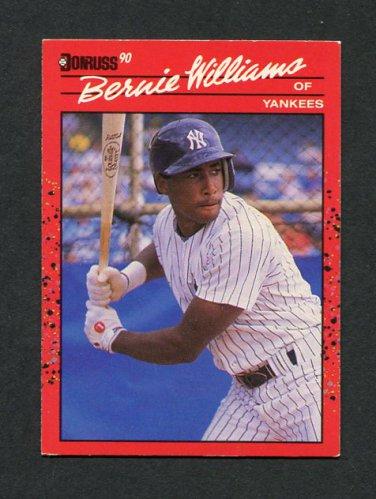 1990 Donruss Baseball #689 Bernie Williams RC - New York Yankees EX