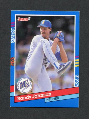 1991 Donruss Baseball #134 Randy Johnson - Seattle Mariners