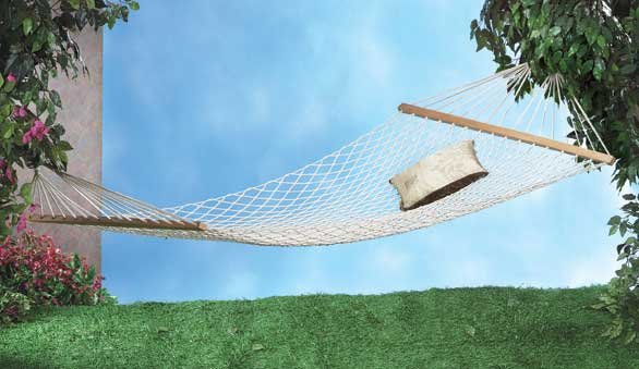 RELAX IN THIS COZY HAMMOCK FOR 2 HOLDS UP TO 440LBS hammocks