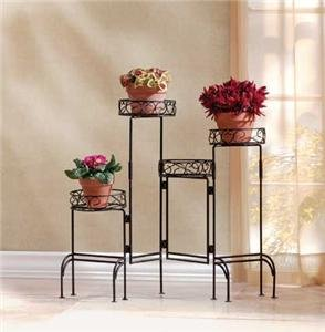 FOUR-Tier PLANT Stand Screen FOLDABLE