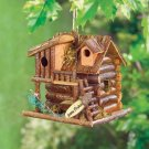 Gone Fishin' Birdhouse Wood
