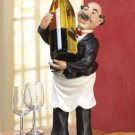 FRENCH WAITER CHEF WINE HOLDER -NEW