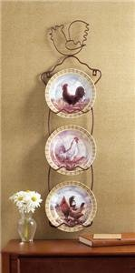 ROOSTER Decor ROOSTER Decorator's Plates