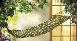 CAMOUFLAGE MILITARY HAMMOCK HOLDS UP TO 250LBS hammocks