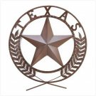 "LARGE 25"" Across TEXAS Star Wall Plaque"