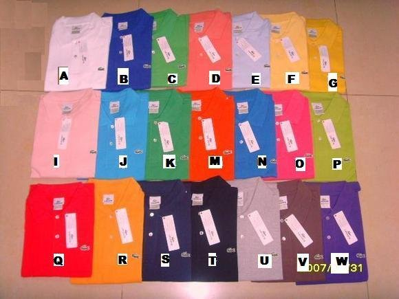 BRAND NEW - 6 Lacoste Polos - Pick your Colors & Size