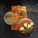 Crocus Vintage Flower Illustration Pocket Mirror