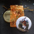 White Rabbit from Alice's Adventures in Wonderland Pocket Mirror