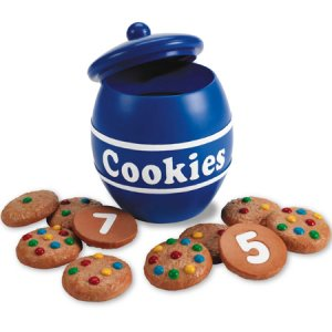 New Pretend Play Food - Counting Rainbow Chip Cookies