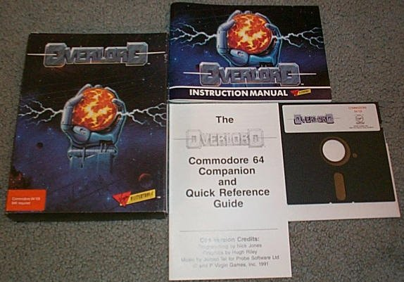 OVERLORD � Commodore C-64 Virgin Game