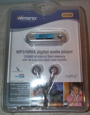 Memorex MMP3731 MP3 Player Digital Voice Recorder FM Tuner NEW in Package