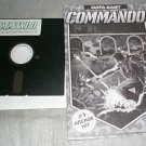 COMMANDO – Commodore C-64 Arcade Type Game – Data East