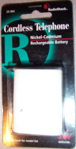 Radio Shack Cordless Phone Battery 23-964 New 990