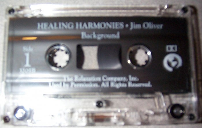 HEALING HARMONIES Jim Oliver - Background Music Cassette