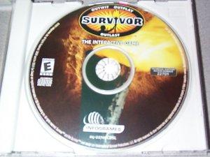 SURVIVOR The Interractive Game PC Game Disk
