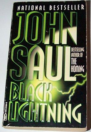 Black Lightning by John Saul Paperback