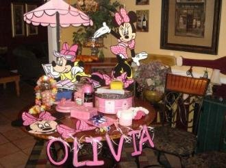 Minnie Mouse Birthday Party Centerpiece BOUTIQUE STYLE