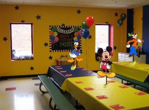 Mickey Mouse Birthday Party Centerpiece BOUTIQUE STYLE