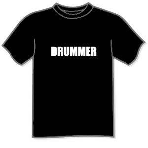 T-shirt - DRUMMER