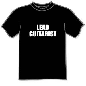 T-shirt - LEAD GUITARIST