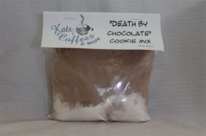 Kats Coffee Chocolate covered Cherry cookie mix