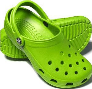 Green Crocs shoes size M-7/ W-9 New on sale!