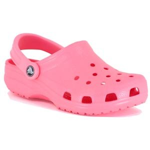 Pink Childrens Crocs shoes size M-2/ W-4 New on sale!