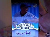 Kevin Hart 2008 upper deck premier rookie signatures Autogragh rookie card Chicago Cubs