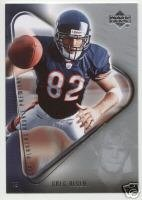 GREG OLSEN 2007 UPPER DECK NFL PLAYERS  ROOKIE PREMIERE ROOKIE CARD CHICAGO BEARS