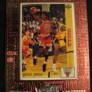 Michael Jordan 1999 Upper Deck Athlete of the century Upper Deck Remembers insert card Chicago Bulls