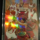 2004 eTOPPS Chicago Bulls team card  Ben Gordon Luol Deng rookie cards