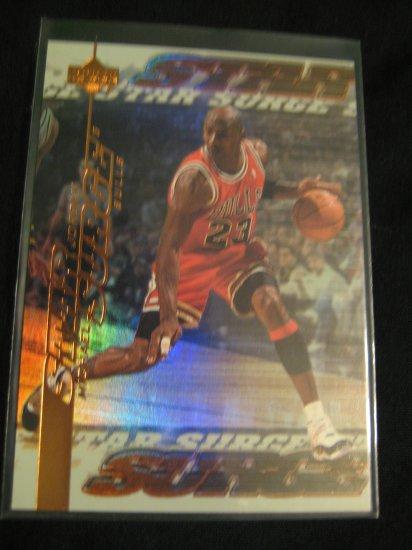 2000 Upper Deck Michael Jordan Star Surge insert card Chicago Bulls